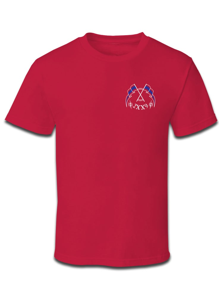 Image of REVOLT TEE / RED