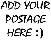 Image of POSTAGE (add according to your basket total)