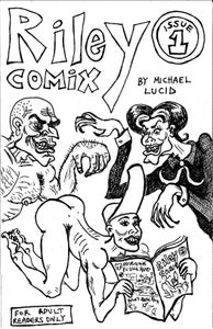 "Image of ""Riley Comix"" Issue 1"