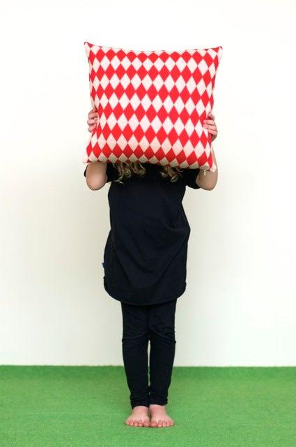 Image of Harlequin cushion