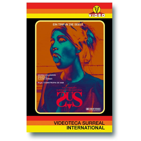 Image of [LIMITED 50 VINTAGE HARDBOX #1] SURREALISTICA UNIFERNO DVD