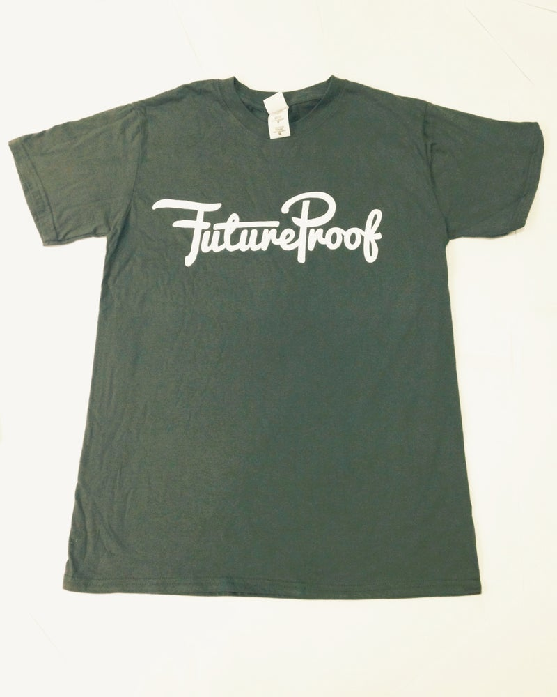Image of FutureProof Loop Logo Tee - FIRE SALE £5