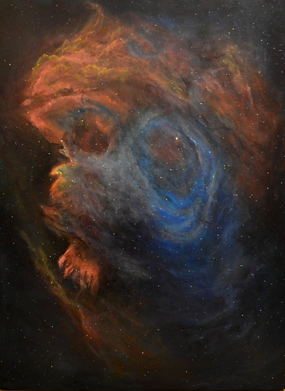 Image of NGC 2174; Monkey Head Nebula