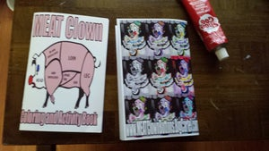 Image of MEAT Clown Coloring and Activity Book