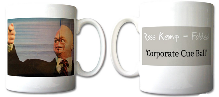 Image of Limited Edition 'Corporate Cue Ball' Mug