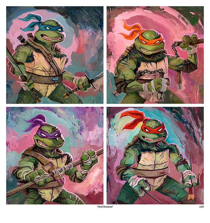 Image of Shell Shocked (Teenage Mutant Ninja Turtles)
