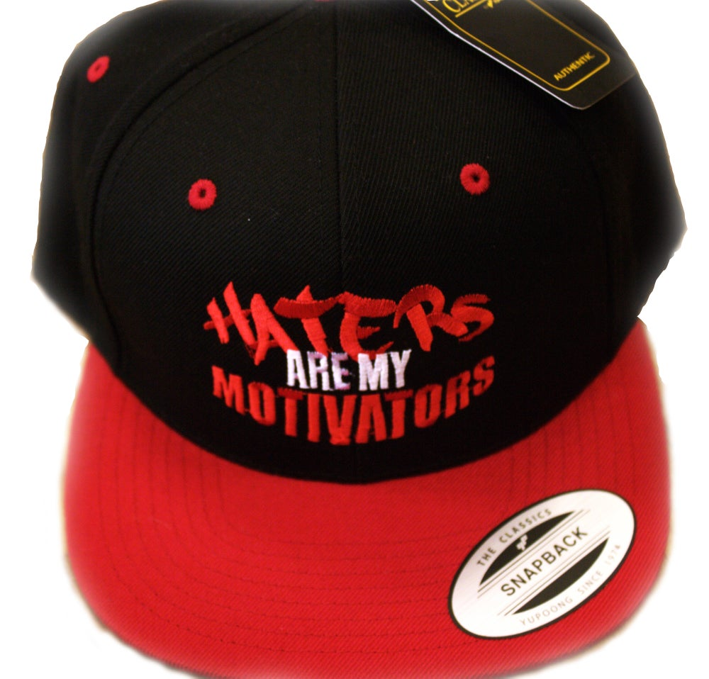 Image of HATERS/MOTIVATORS SNAPBACKS