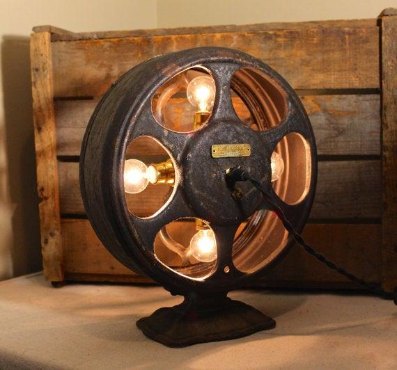 Image Of Atwater Kent Radio Speaker Lamp