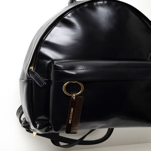 Image of BBAG CUIR GLACÉ NOIR / BLACK GLACED LEATHER