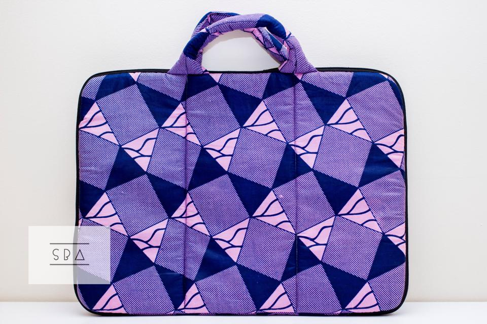 Image of African print laptop bag