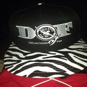 Image of DEFinition of FLY Zebra Brim Snapback Cap
