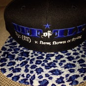 Image of DEFinition Blue Cheetah Snapback Cap