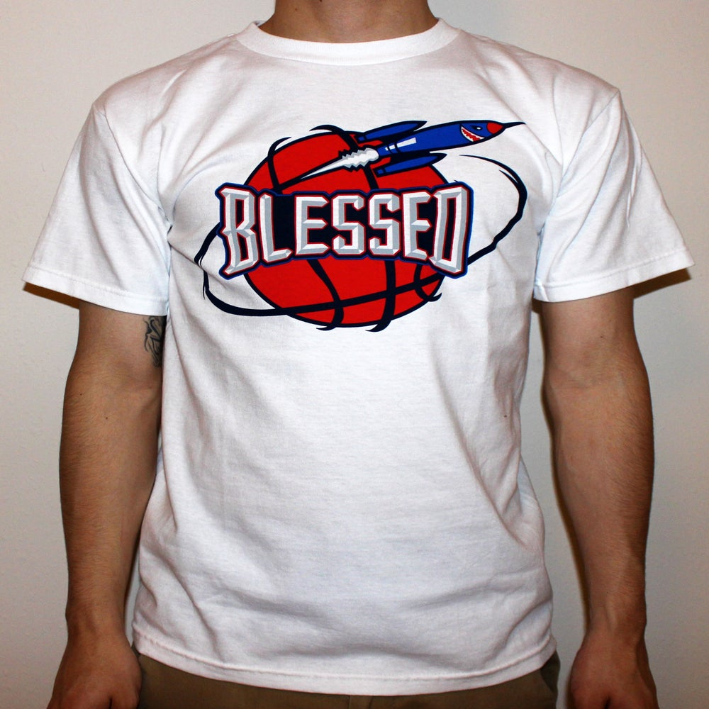 Image of Blessed Rockets T-Shirt White