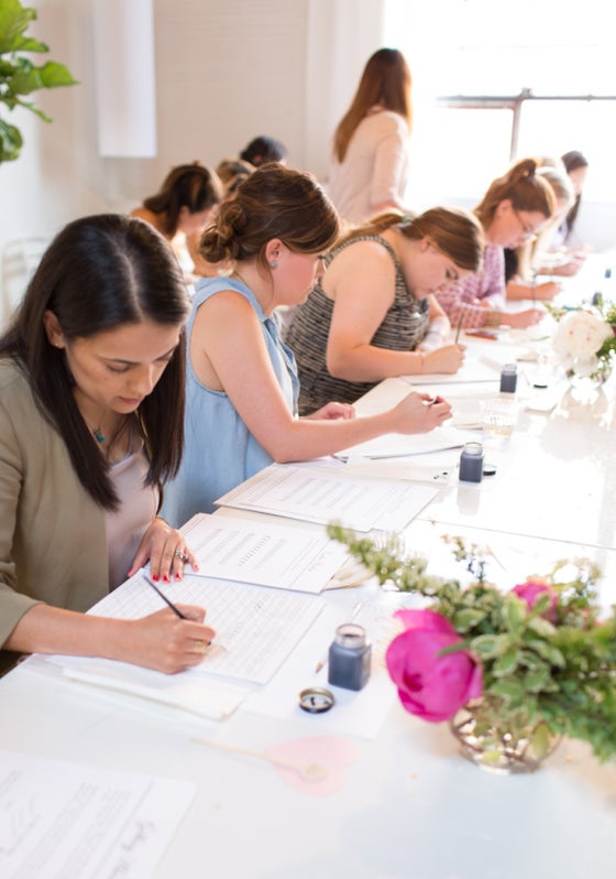 Image of Laura Hooper Calligraphy Class | June 9th