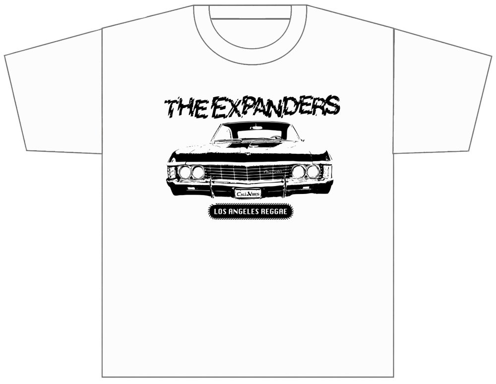 "Image of THE EXPANDERS ""LOS ANGELES REGGAE"" WHITE SHIRT"