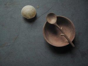 Image of SALT TWIG SPOON 3.5'' (8.5CMS)