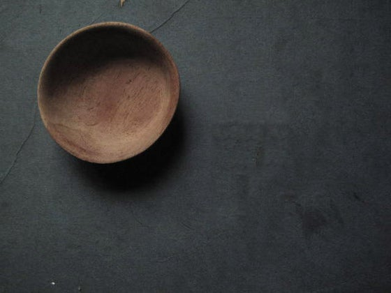 "Image of HAND CARVED SALT BOWL - 6.35 CMS (2.5"")"