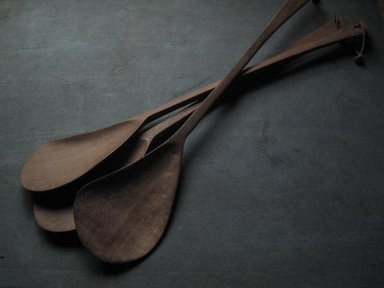 "Image of BOA SALAD SERVER - 41.9 CMS (16.5"")"