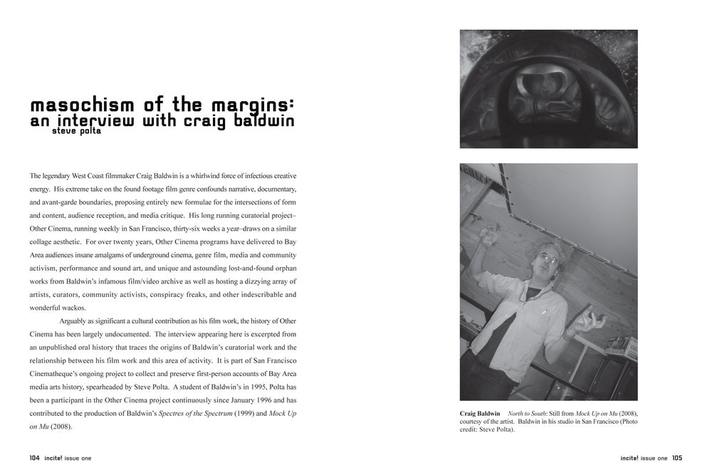 Image of Issue #1: MANIFEST