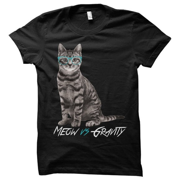 Image of Black Meow Shirt