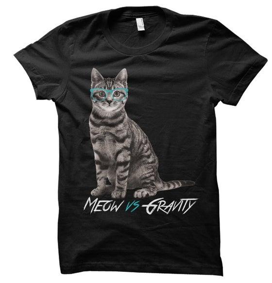 Image of Black Meow Shirt