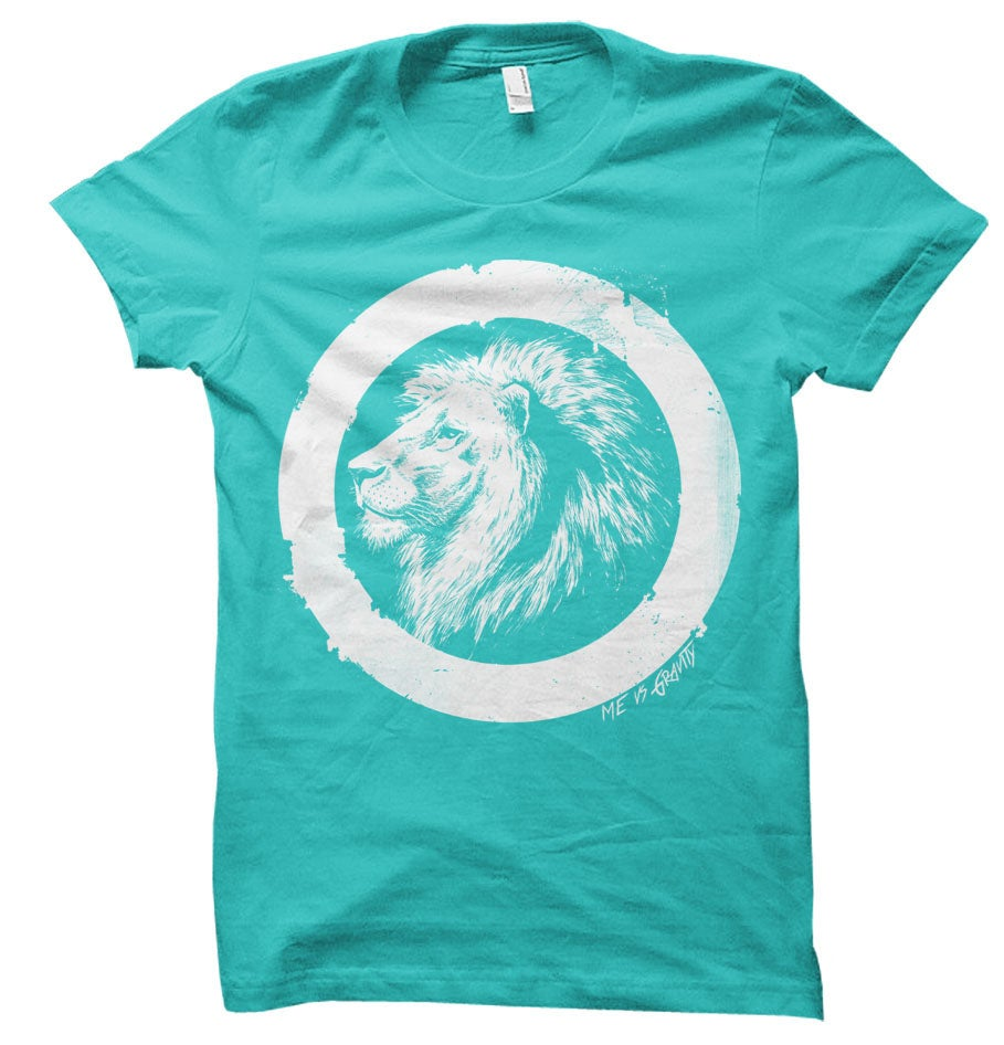 Image of Teal Lionheart Shirt