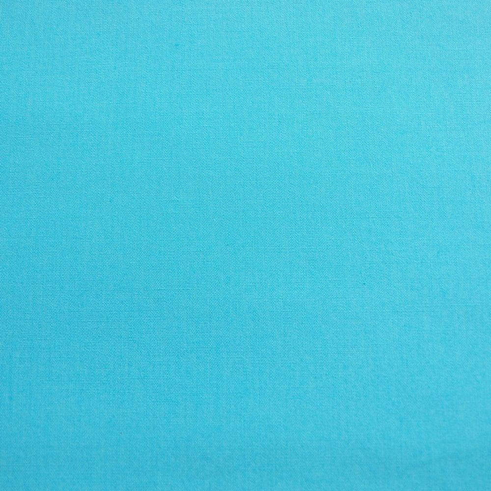Image of Popeline Bleu piscine