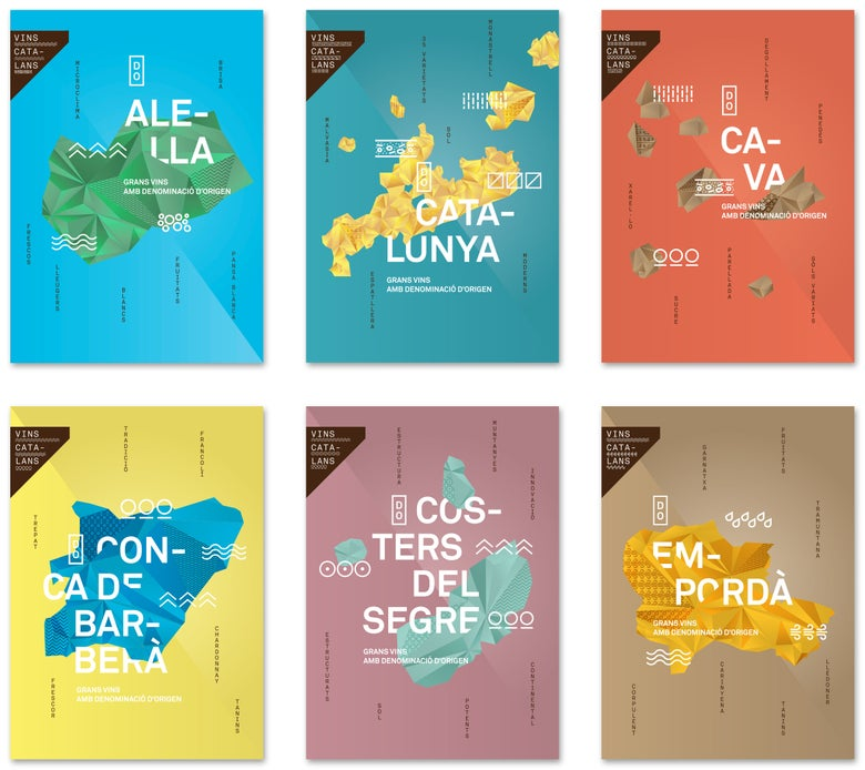 Image of Catalan wines posters (I)