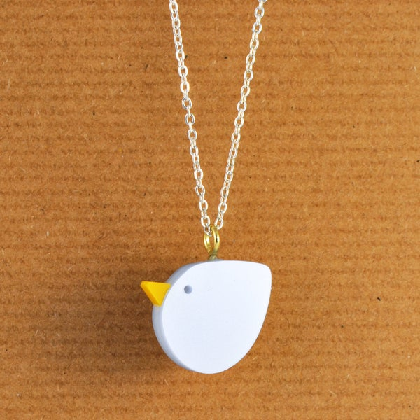 Image of Blue Bird pendant necklace