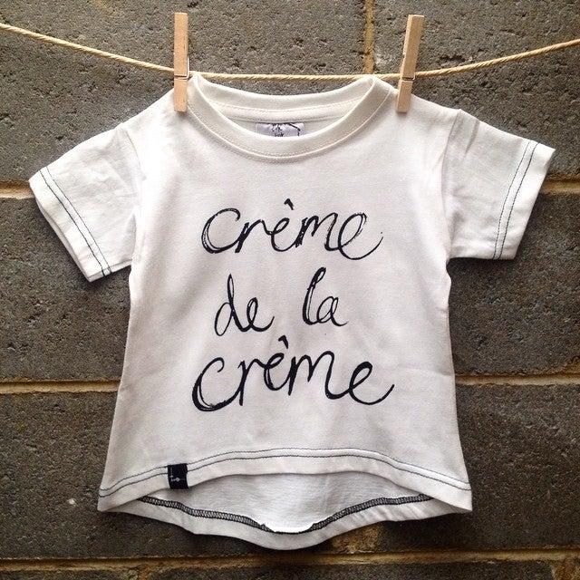 Image of crème de la crème tshirt