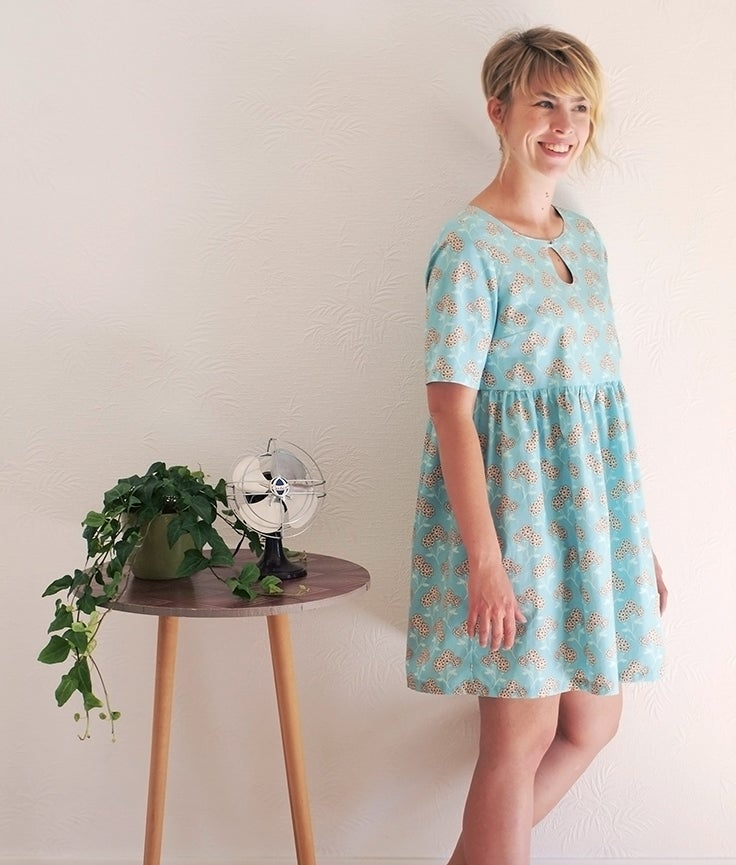 Image of Patron femme PDF robe Zélie