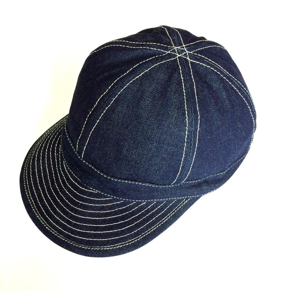 Image of WWII P O W DENIM BALL CAP