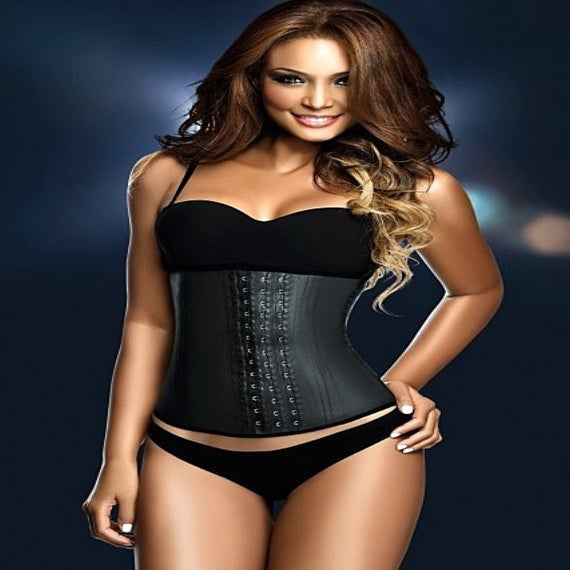 Image of (NEW) The Glam Body Hourglass 3 Row Hook & Eye Waist Cincher Up to 6X