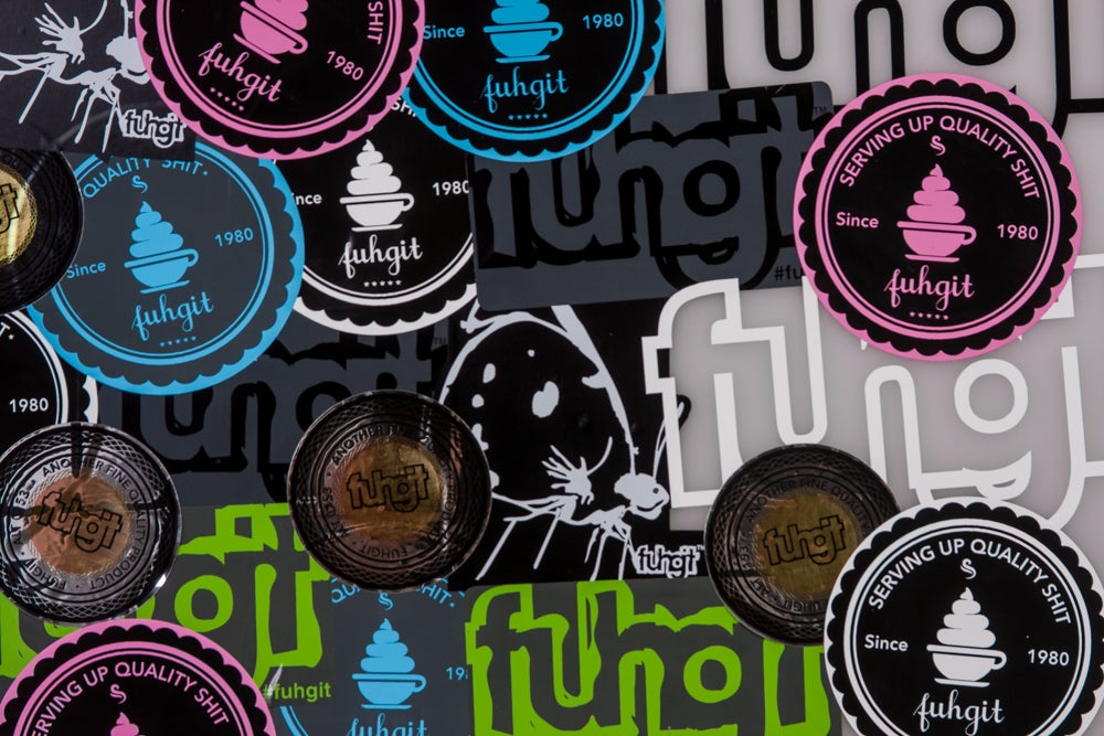 Image of fuhgit™ Sticker pack