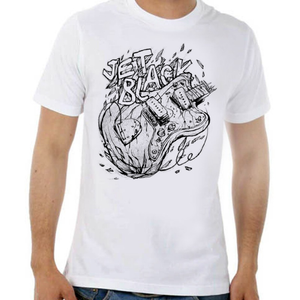 Image of Guitar T-Shirt - White