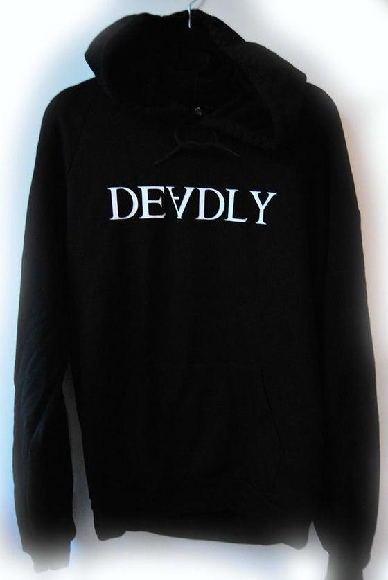 Image of 'DEVDLY' hoodie
