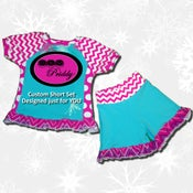 Image of Custom Short Set Designed just for YOU size 6-12m to 13/14