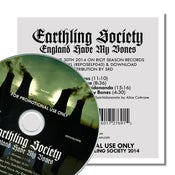 Image of EARTHLING SOCIETY 'England Have My Bones' Promo CDR