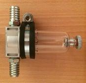 Image of Rutland Motors oil catch tank - Silver