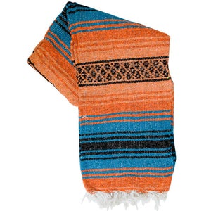 Image of Mexican Blanket, Paradise Coral & Turquoise