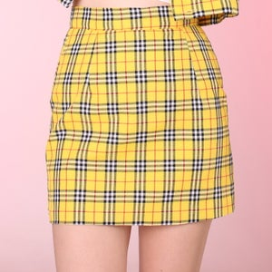 Image of Made To Order '6 weeks waiting' - Cher Mini Skirt (A line Style)