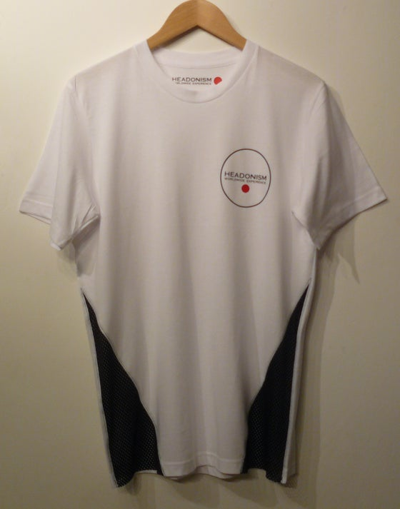 Image of Mesh side panel concept Tee - White