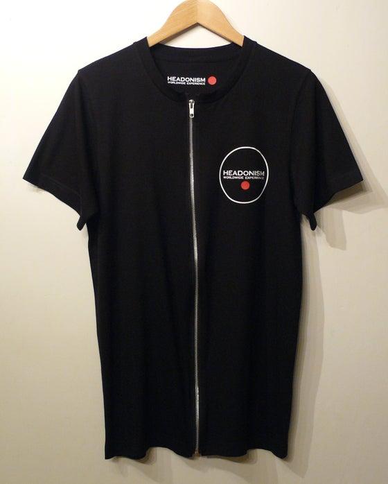 Image of Dynamic zip Tee - Black
