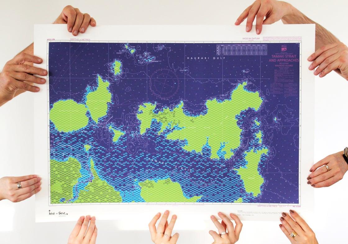 Image of Hauraki Gulf - Blue Bombshell