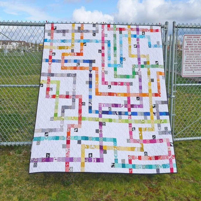 Image of TOKYO SUBWAY MAP QUILTS pdf quilt pattern
