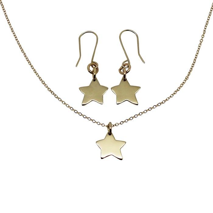 Image of Little Star 9K Gold Gift Set