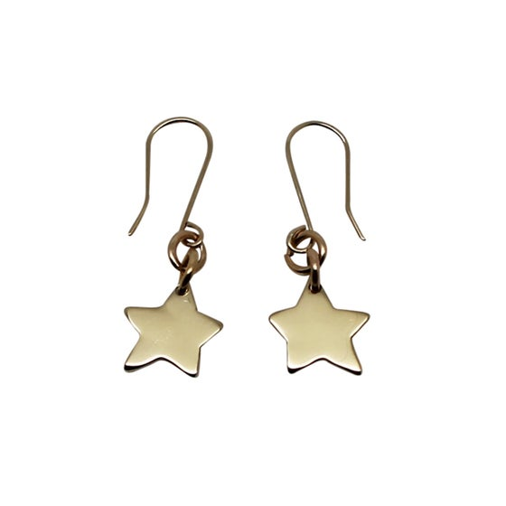 Image of Little Star 9K Gold Earrings