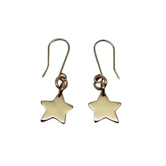 Image of Little Star 9K Gold Earrings