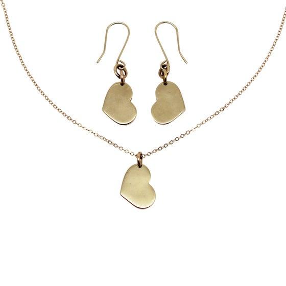 Image of Little Heart 9K Gold Gift