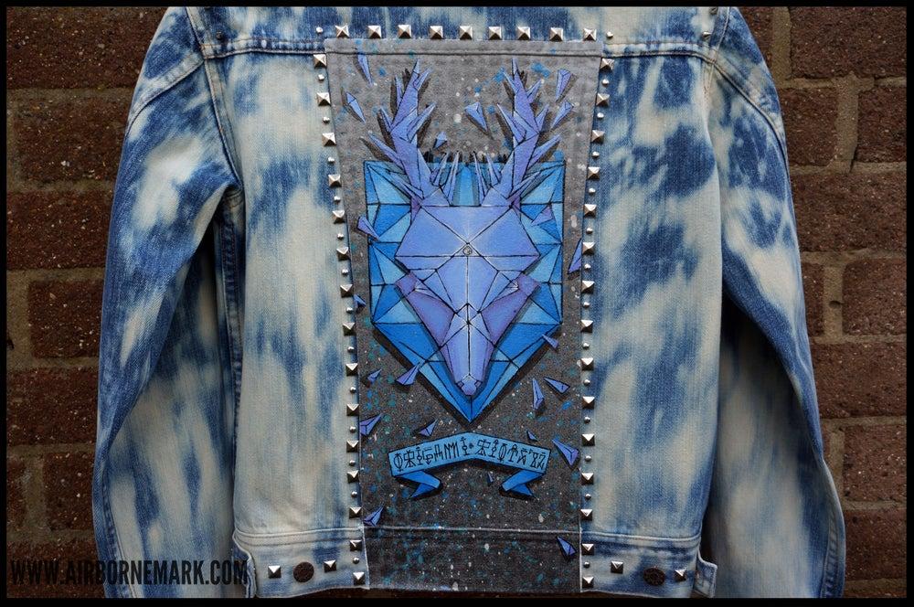 """Image of """"Origami Deer Trophy"""" Custom Jacket"""